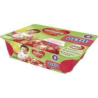MILUPA Petit Fresa envase 360 g Pack 6 x 60 g