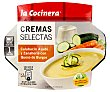 Crema de calabacín asado y zanahoria con queso de burgos 230g La Cocinera