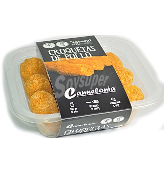 Cannelonia Croquetas pollo sin gluten 350 g