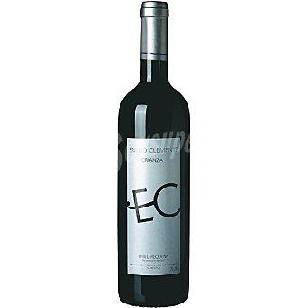 EMILIO CLEMENTE Vino tinto crianza D.O. Utiel Requena Botella 75 cl