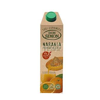 Don Simón Brick zumo exprimido de naranja sin pulpa 1 l