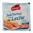 Salchichas con leche Paquete 170 g - 8 unidades Campofrío