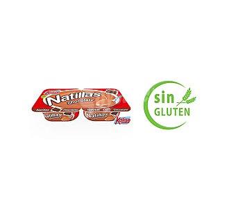 Kalise Natillas chocolates Pack 2x135 grs