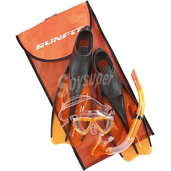 RUNFIT M4208-XS set de buceo en color naranja talla 32-34