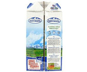 Central Lechera Asturiana Leche sin lactosa semidesnatada Pack 6 botellas de 1 litro