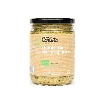 Quinoa con kale y espinacas ecológica Carlota Organic 425 g
