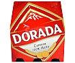 Cerveza pilsen clásica pack 6 botellas 25 cl Dorada