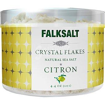 FALKSALT Escamas de sal al limón Bote 125 g