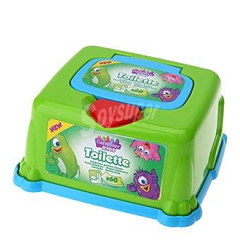 Carrefour Kids Toallitas húmedas bebé caja + recambio 60 ud