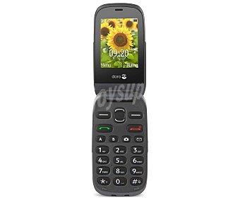 """DORO 6030 Graphite Teléfono móvil uso fácil grafito, pantalla 6cm (2.4""""), cámara, botón SOS"""