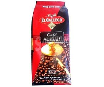 GALLEGO Café en grano Colombia 100% 500 Gramos