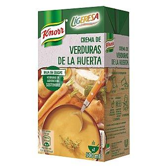 Knorr Ligeresa crema de verduras de la huerta Envase 500 ml