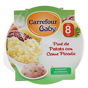 Carrefour Baby Puré de patata con carne picada 200 g