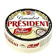 Queso Camembert en porciones  Caja 250 g (8 uds) President