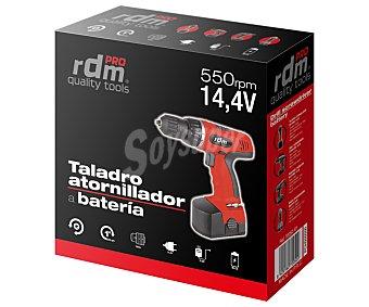 RDM Taladro atornillador sin cable con batería de litio 14.4 Voltios 1 Unidad