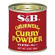 Curry S&B sin gluten 85 g Oriental