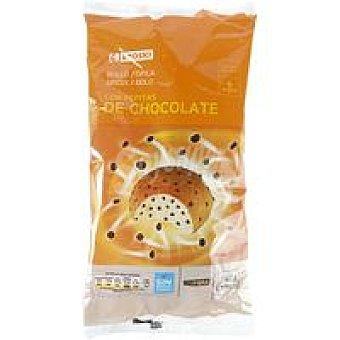 Eroski Bollo con pepitas de chocolate 6 unid