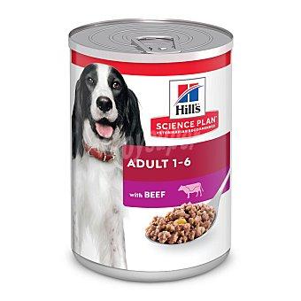Hill's Science plan adult alimento húmedo para perro adulto con ternera Lata 370 g