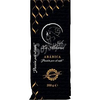 La aldeana Cafe molido natural Arabica paquete 200 g paquete 200 g