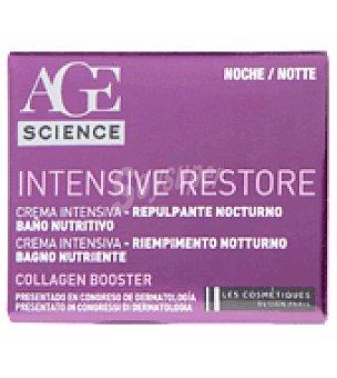 Les Cosmétiques Crema facial intensiva noche Collagen 50 ml.