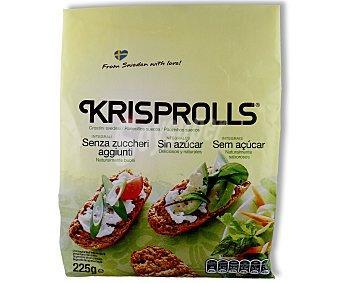 Krisprolls Panecillos suecos sin azúcares añadidos 225 gramos