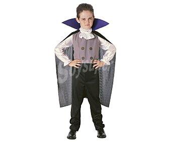 HAUNTED HOUSE Disfraz infantil Drácula Vip, talla pequeña S, de 5 a 7 años 1 unidad