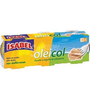 Isabel Atún claro en aceite de girasol alto oleico con isoflavonas 156 g