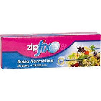 Zipfix Bolsa hermética zip mediana 27x28 Caja 15 unid