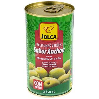 Jolca Aceitunas verdes sabor anchoa Lata 185 g
