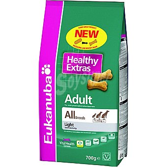 EUKANUBA HEALTHY EXTRAS ADULT Galletas para perro adulto Paquete 700 g