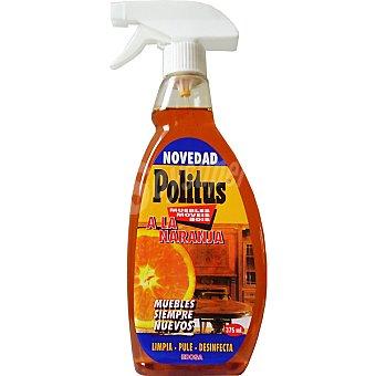 Politus Limpia muebles naranja pistola 375 ml
