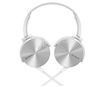 SONY MDRXB450APW Auricular tipo cerrado, con cable, color blanco
