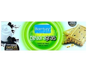 BICENTURY DEVORAGRAS Galletas de yogur y chocolate  envase 160 g