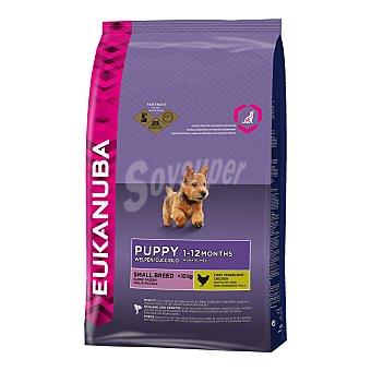 Eukanuba Pienso para perros mini cachorros Small Puppy Pollo 3 Kg