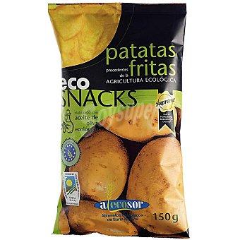ALECOSOR Patatas fritas con aceite de oliva virgen agricultura ecológica Envase 150 g