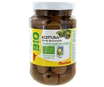 Auchan Aceituna verde deshuesada Biológica (procedente de agricultura ecológica) 170 Gramos