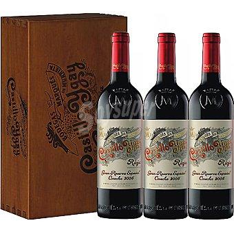 GRAN vino tinto reserva D.O. Rioja Estuche 3 botellas 75 cl