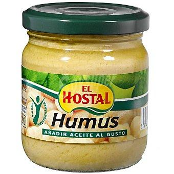 El Hostal Paté de garbanzo humus Frasco 200 g