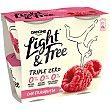 Yogur con frambuesa Pack 4 x 115 g Light & Free Danone