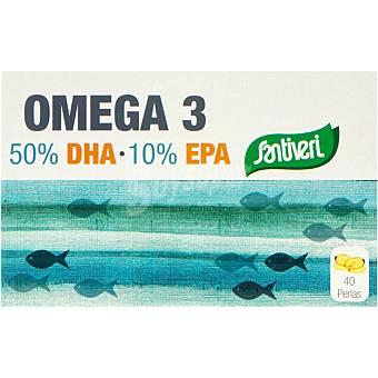 Santiveri Perlas DHA + EPA aceites de pescado perlas Estuche 40 unidades