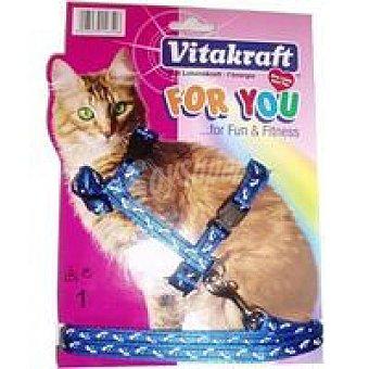 For You Vitakraft Arnes de nylon gato Pack 1 unid