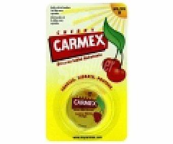 CARMEX Protector labial SPF 15, cereza. Suaviza, hidrata y protege 1 Unidad