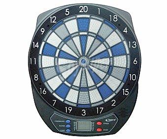 CUP´S Diana Electrónica para Dardos Soft-Tip. Hasta 8 Jugadores. 25 Juegos con 61 Variaciones. Sonidos Incorporados 1 Unidad