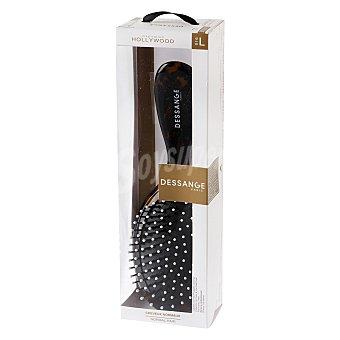 Dessange Cepillo cerámico cónico con pelo de jabalí para cabello normal 1 ud