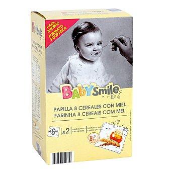 Baby Smile Papilla 8 cereales con miel caja 1200 gr 1200 gr