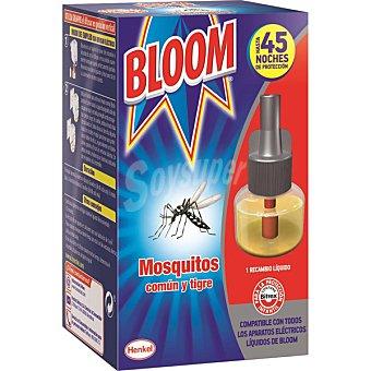 Bloom Insecticida volador eléctrico líquido antimosquitos común y tigre recambio