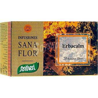 SANTIVERI SANAFLOR Infusión de plantas medicinales relajante envase 90 g Envase 90 g
