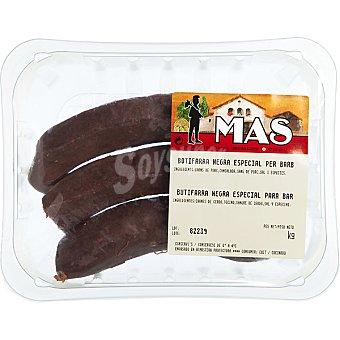 E.mas Butifarra negra especial barbacoa peso aproximado bandeja 400 g 3 unidades