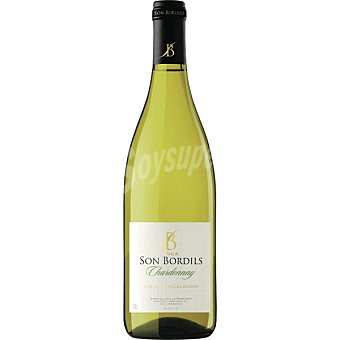 FINCA SON BORDILS Chardonnay vino de la Tierra de las Islas Baleares botella 75 cl Botella 75 cl