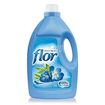 FLOR suavizante diluido azul 36 dosis  botella 2,5 l